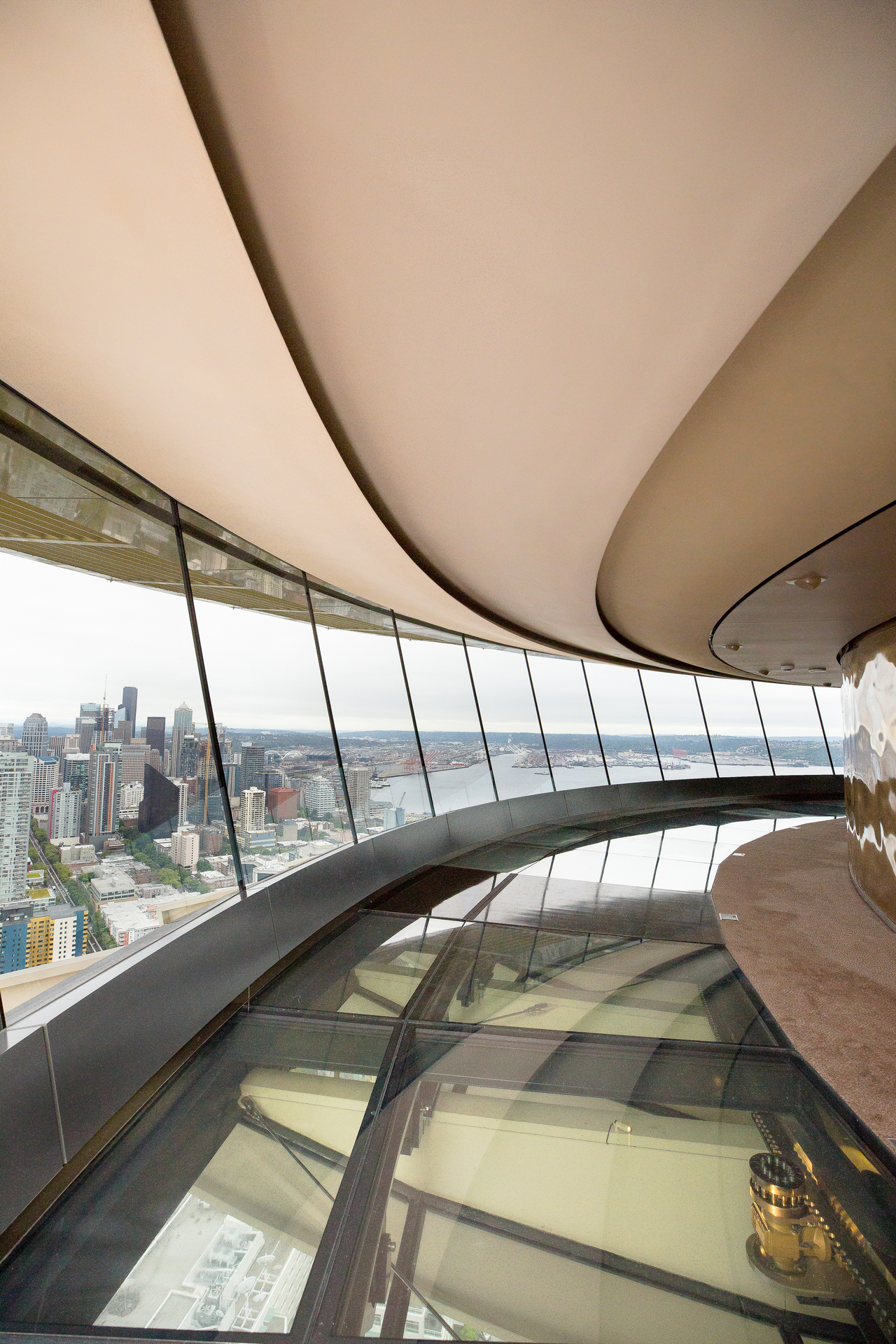 Fellert's Even Better Silk is the only one in the world. Seen here at the Space Needle in Seattle, Washington.
