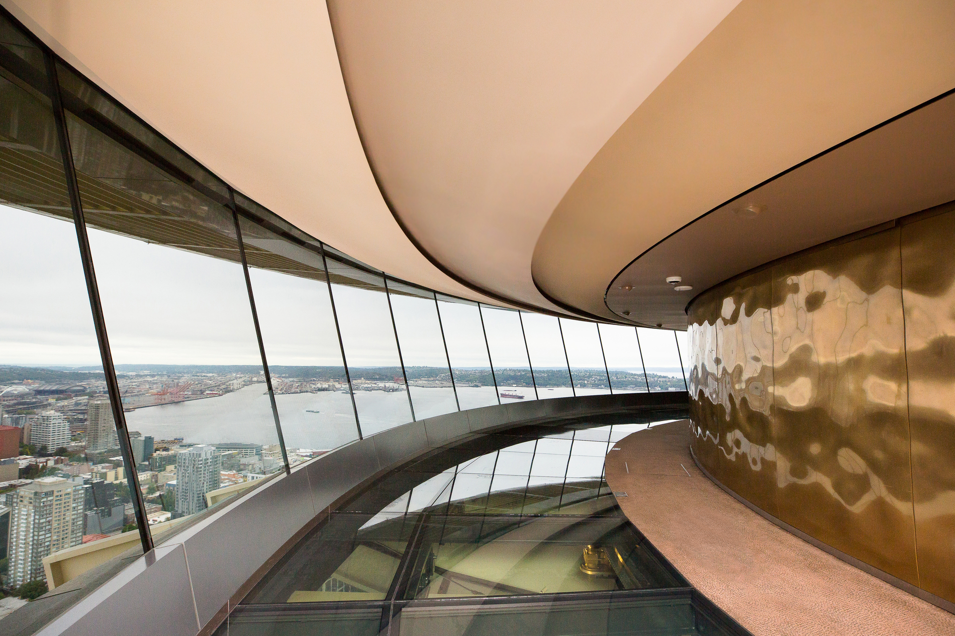 Even Better Silk, by Fellert, provides seamless acoustical concrete like look. Even Better Silk mimics the color and look of concrete but completely absorbs sound.
