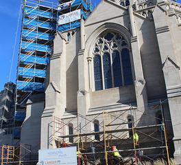 Firm Ground Hennepin Avenue Methodist Church Exterior under construction