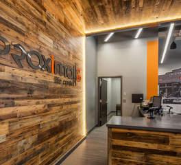 Fitness center reception area designs