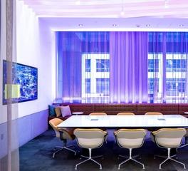 Fluid Interiors Capella Tower Minneapolis Minnesota Meeting Room