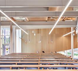 Fluxwerx Albion Library Bookshelves Profile Linear Lighting Luminaire