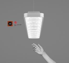 Fluxwerx Loop Suspended Linear Pendant LED Luminaire
