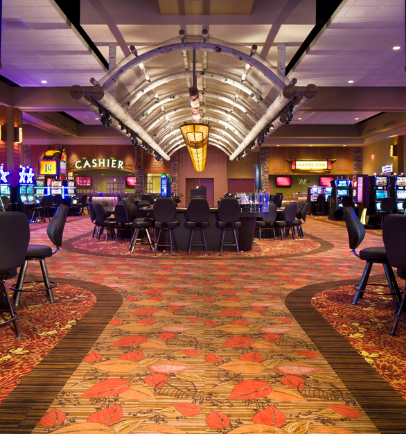 Satisfied with their New Buffalo, Michigan location, the Pokagon Band of Potawatomi Indians again selected Cordeck's N-R-G-FLOR for their Hartford, Michigan location.  The Four Winds North Casino is the Pokagon Band of Potawatomi Indians' first satellite casino to open in Michigan.  They have dedicated half of their 52,000 square foot building to gaming, allowing them to operate up to 1,000 slot machines.