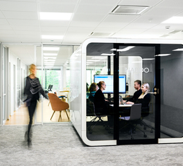 Framery Acoustics 2Q Office Space Design Full Size Private Meeting Booth