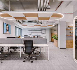 Framery Acoustics Framery O L'Oreal Offices Warsaw Poland Modern Open Office Privacy Booths