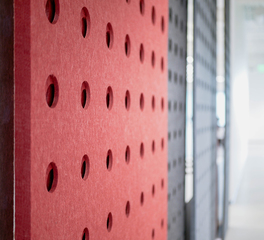 frasch sun holding office panl acoustical lasercut divider screens