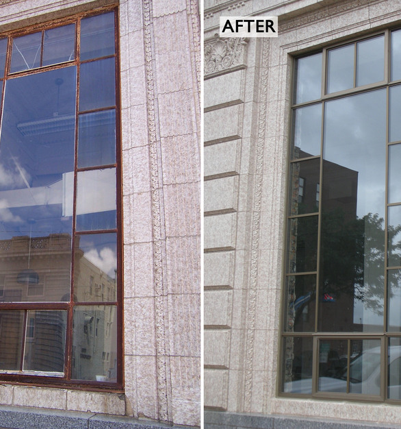 This project had stringent historic renovation requirements that were my using our SCW900 and SCW2500 Series windows.  You can trust St. Cloud Window for you next historic renovation project.