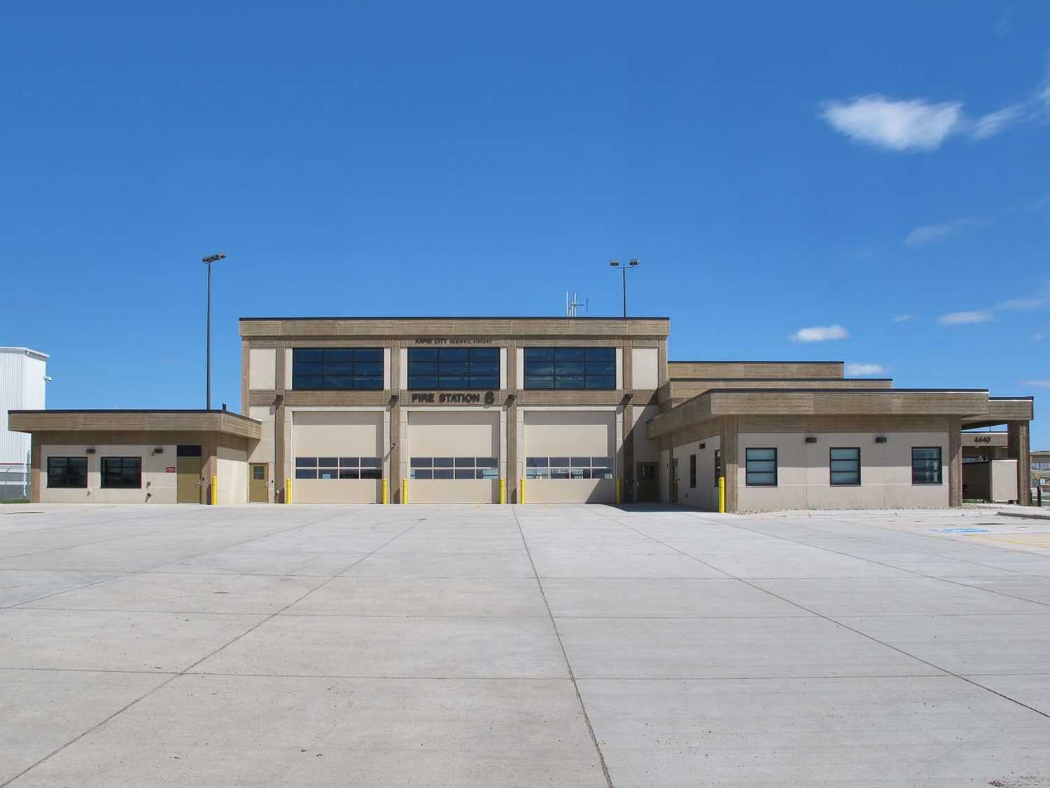 Rapid City Regional Airport Rescue And Firefighting Station Gage Brothers