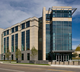 Gage Brothers Minnesota Senate Building Saint Paul Minnesota Exterior Glass Wall Facade