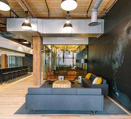 Gardner Builders Office Design Land O' Lakes Minneapolis Common Area Lounge