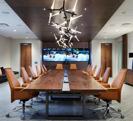 Gardner Builders Sleep Number Headquarters large conference room