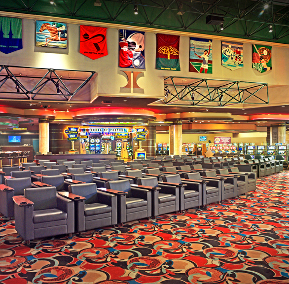 Gasser Chair Company manufactured the seating located here at the Las Vegas Hotel & Casino in Las Vegas, NV.
