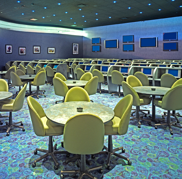 Gasser Chair Company manufactured the seating shown here at the Riverwind Casino located in Norman, OK.