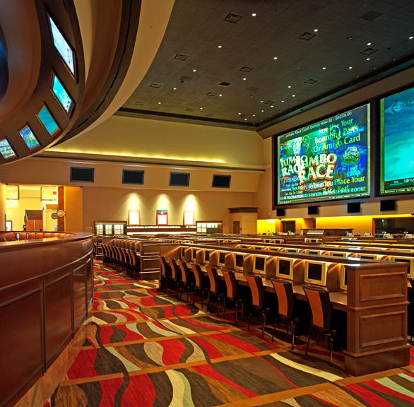 Gasser Chair Company manufactured the seating used at the Red Rock Casino Resort & Spa in Las Vegas, NV.