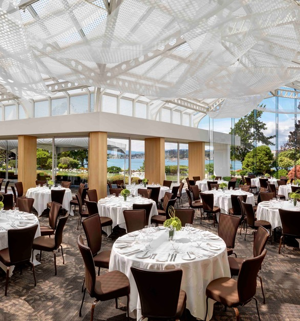 Most chairs simply fill a space; Gasser chairs are designed to elevate it, especially at the Inn at Laurel Point