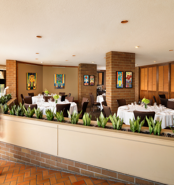 Gasser Chair provides eye catching chairs for any space including this dining area at the Inn at Laurel Point