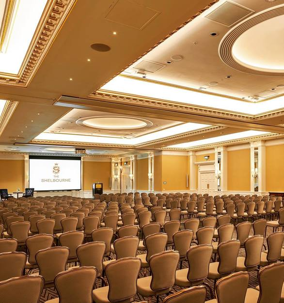 Gasser Chair Stackable Seating SE Series allows for easy event setup while remaining true to the hotel design.
