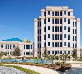 Gate Precast Hospital Design Cook Children's Medical Center Fort Worth Texas Exterior Precast Facade