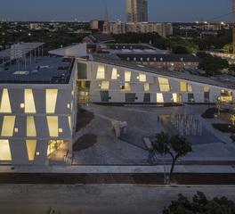 Gate Precast The Glassell School of Art Houston Texas Window Designs and Precast Facade