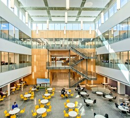 Gator Millworks Patrick Taylor Hall Louisiana State University Higher Education Atrium Building Design