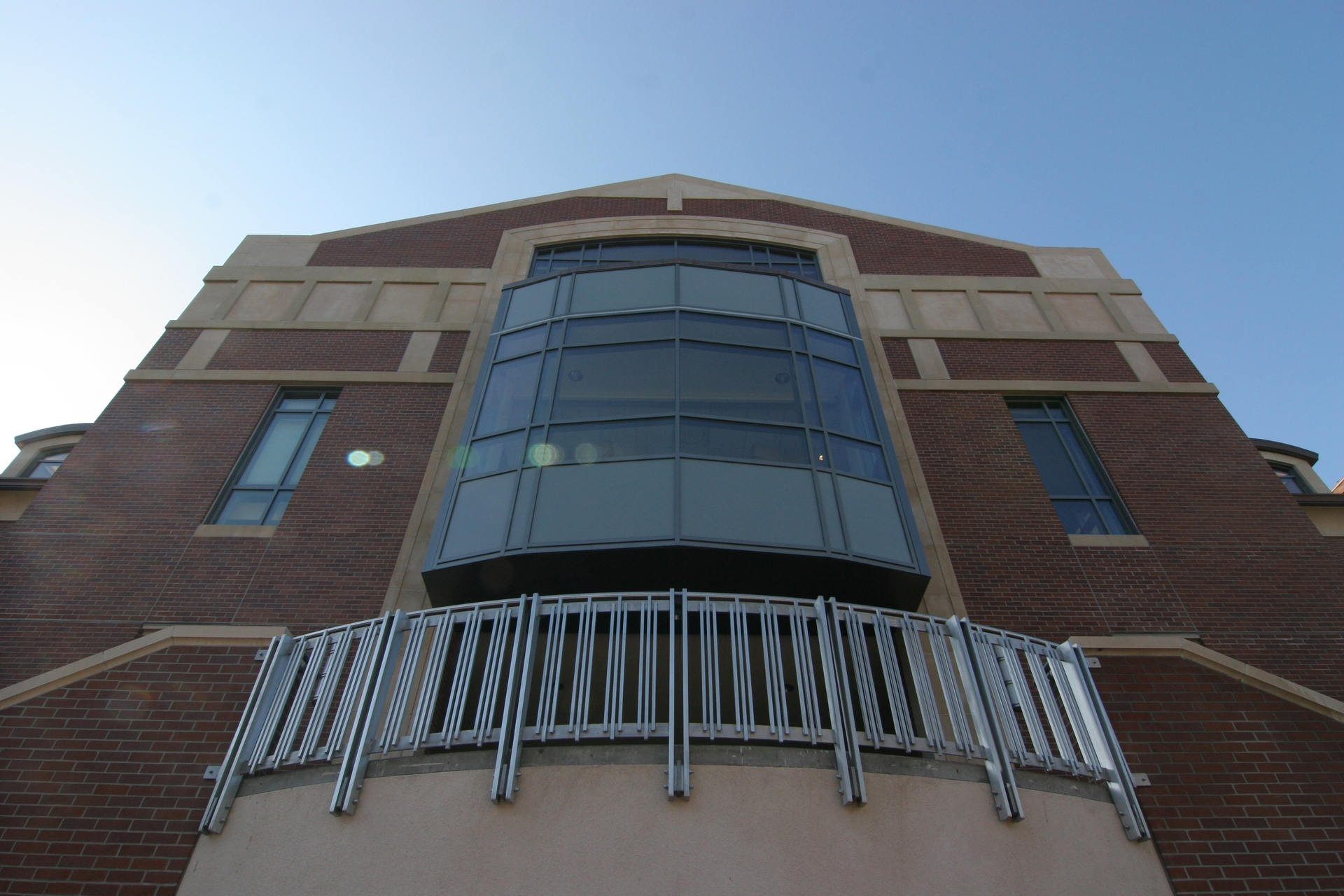 Facade view to showcase the GFRC trims, parapet caps, dormers, and wall caps by GC Products.