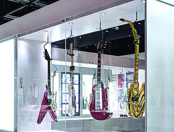 No matter what you're exhibiting or trying to preserve, Gemini can create exactly what you need. Shown here as a Museum of Music.
