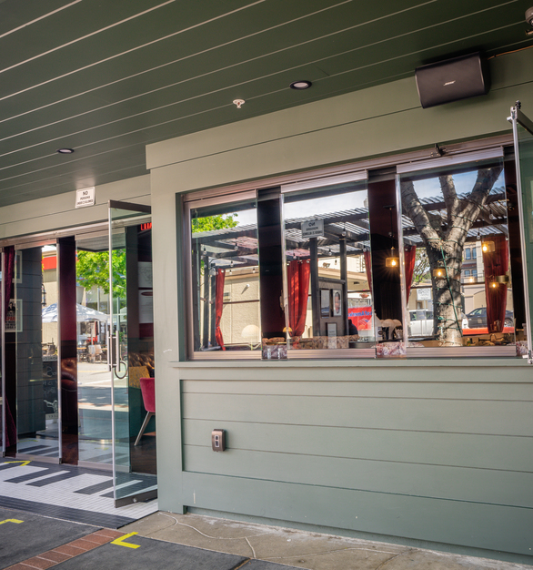 A smaller version of Cover Glass's Interior and Exterior Glass Doors can transform ordinary windows into an impactful statement in any commercial property.