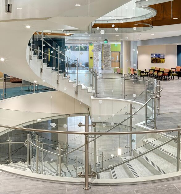 We have the capabilities to bend our Glass in many different ways, shapes, and sizes; providing a limitless array of options for custom curves. Made for internal and external settings, hundreds of configurations are possible and can be curved to your specification.