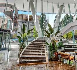 Glasshape Emporium Luxury Hotel Interior Lobby Staircase Design