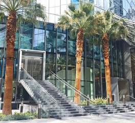Glasshape Intercontinental Hotel Los Angeles Hospitality Design Window and Glass Facade