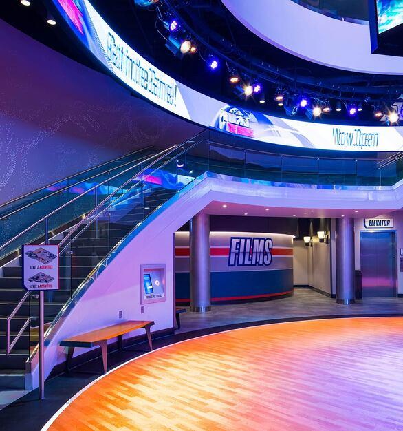 Glasshape NBA Experience Disney Orlando Florida Interior Finishes