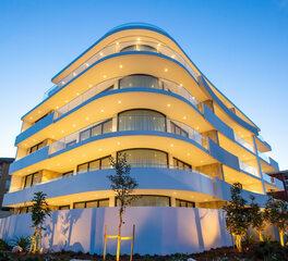 Glasshape Soul Apartments Cronulla Beach Australia Outdoor Building Lighting Design
