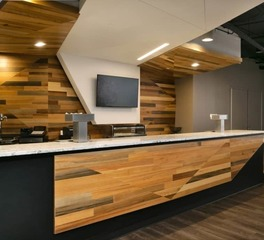 Goodwin Company Amalie Arena Lounge Kitchen and Food Serving Area
