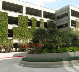 greenscreen parking structures horizon playa vista