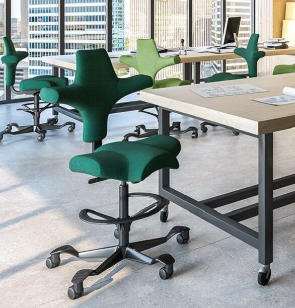 hag capisco chair office setting 9to5 seating
