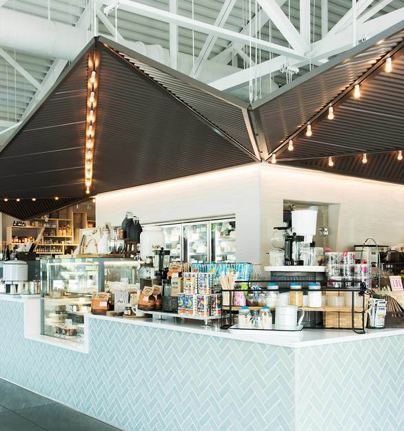 Star Provisions Market & Cafe in Atlanta, Georgia, features HanStone Quartz countertops by Hyundai L&C USA.
