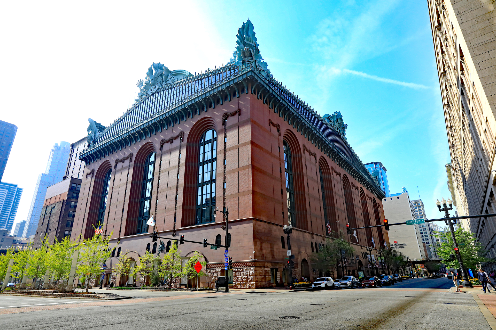 The Chicago Public Library was constructed in 1873. As a Chicagoland Historical Landmark the building has gone through several renovations during its lifetime.  Our In Floor Cellular Raceway System was implemented during one of the library renovations that took place in the late 1980's.  These beautiful photos are of the 2017 remodel which is now the Harold Washington Children's Library Center. It'sjust one of the projects that demonstrates that that our system holds up to the test of time.  © Tom Harris   Design by Gensler