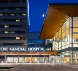 hdr Etibicoke general hospital new patient tower exterior