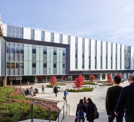 hdr University british columbia undergraduate biosciences complex courtyard