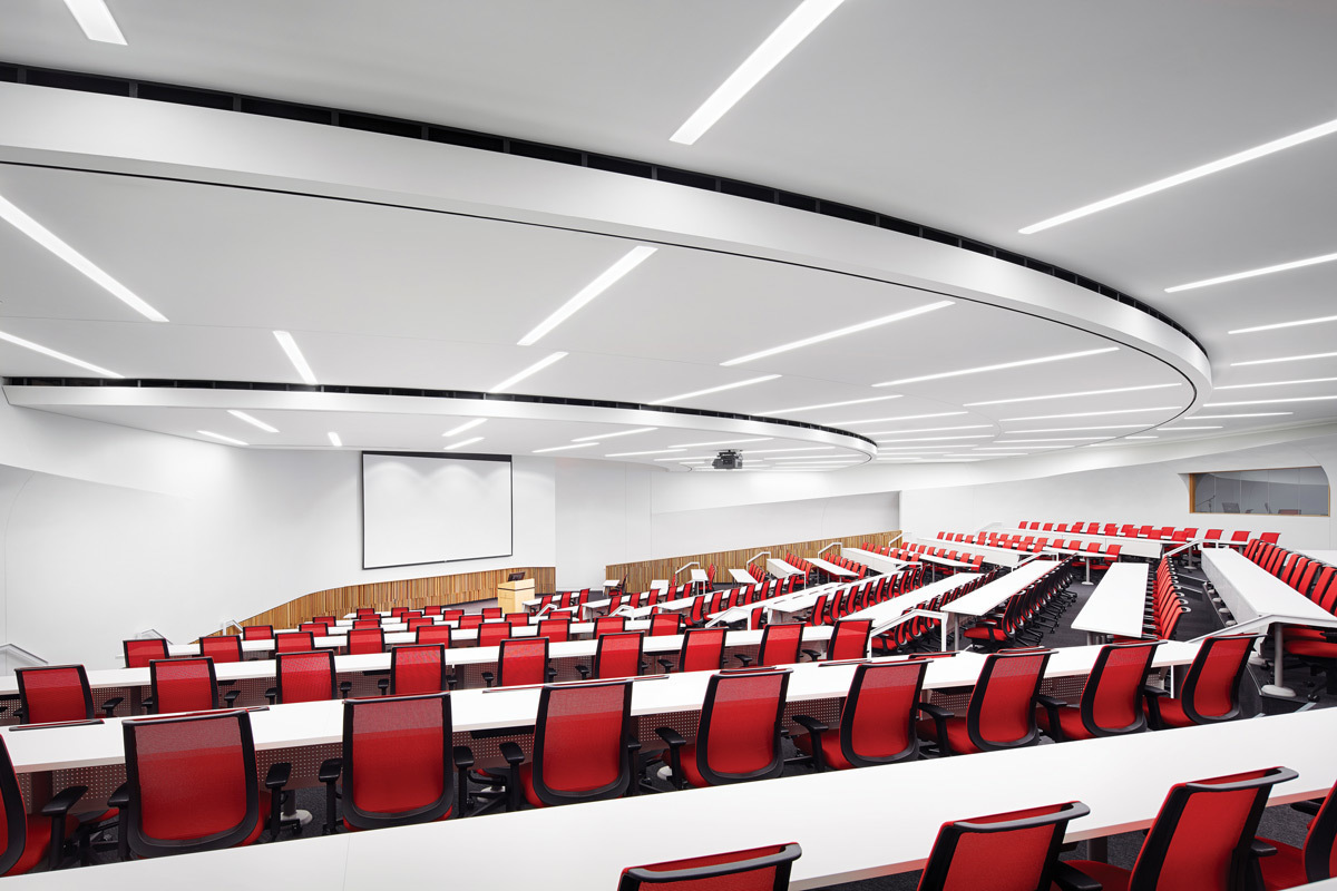 Auditoriums have unique