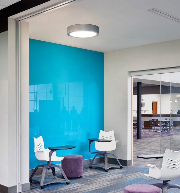 Designed to complete your lighting package, Williams surface mount LED solutions complement our most popular recessed and suspended products, from rounds to continuous light.