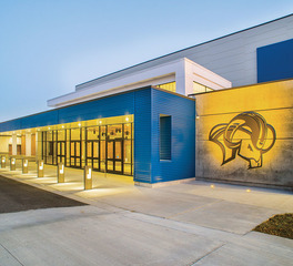 HE Williams VCBA Riverton HS Exterior 2