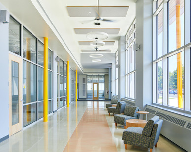 American International College, Springfield, MA. Architects & Design-Build Firm: Phase Zero Design.