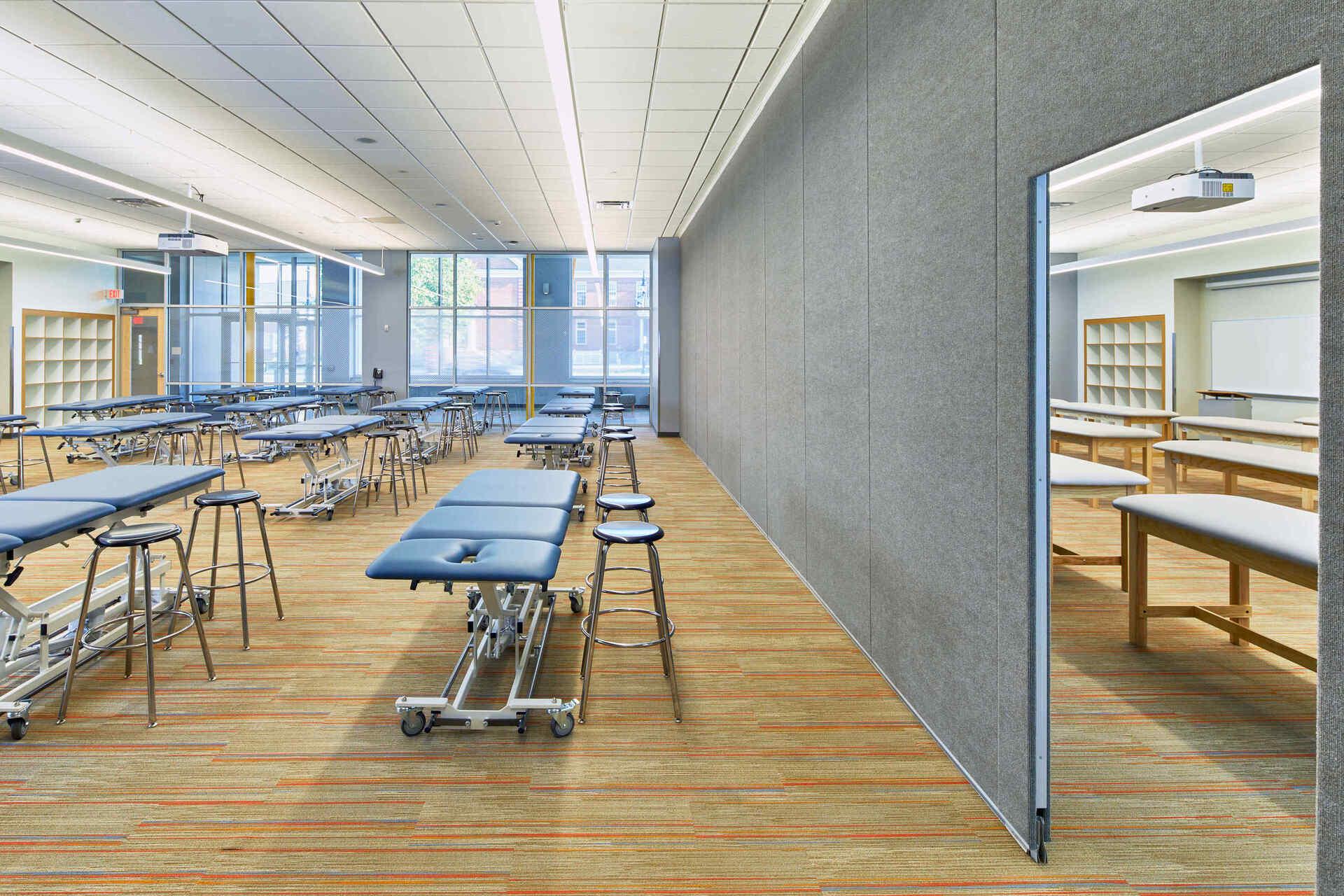 American International College, Springfield, MA. Architects & Design-Build Firm: Phase Zero Design.