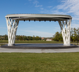 Heartland Companies Water Works Park Amphitheater Des Moines Iowa