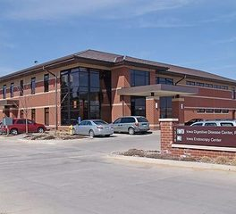 Heartland Iowa digestive center exterior clinic construction