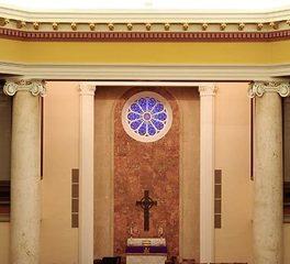 heartland United methodist church interior