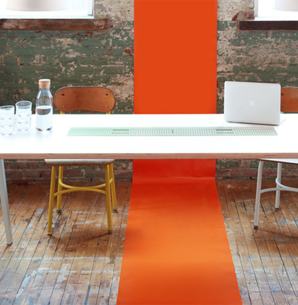 Heartwork moved the iconic Sawhorse Desk out of the garage and into the workspaces of creative teams today.