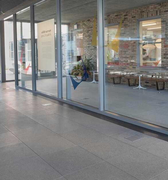 Herman Miller STONEWORKS Classic Concrete raised access floors